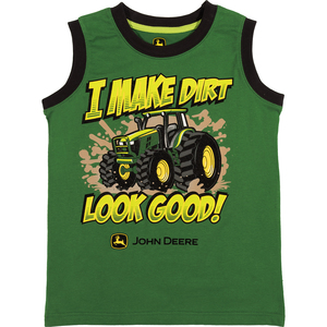 I Make Dirt Look Good Muscle Tee