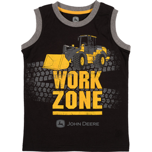 Work Zone Muscle Tee