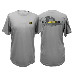 Men's Oxford Run Your World Construction Tee M-2X