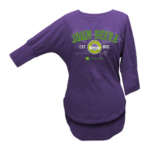 Women's Purple 1837 Batwing Tee
