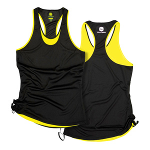 Poly Mesh Ruched Tank