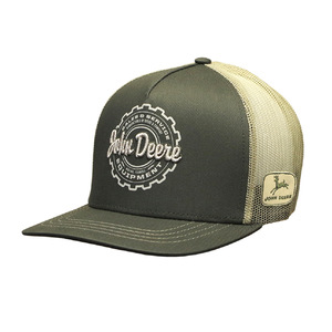 Men's Olive Green Trucker Hat