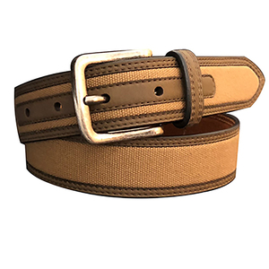 Boy's Canvas Center Belt