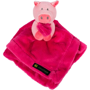 Pink Pig Cuddle Blanket