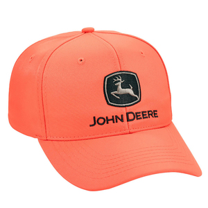 Blaze Orange Chino Cap