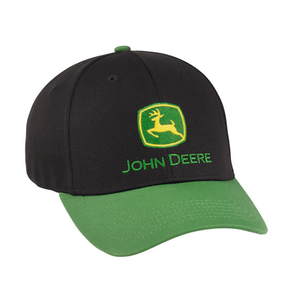 Black and Green Performance Cap