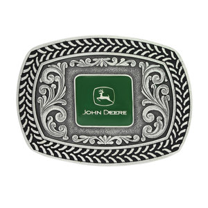 John Deere Tire Tread Attitude Buckle