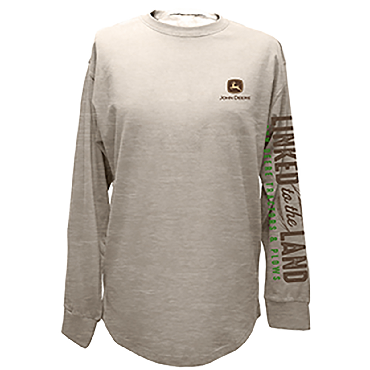 Mens Linked To The Land Long Sleeved Tee Mens Clothing Mens