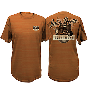 Men's John Deere Shield Pumpkin Tee