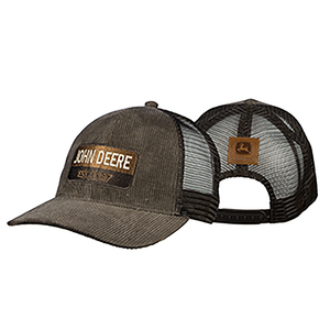 Mens Brown Corduroy Cap