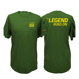 Men's Green 100th Anniversary Tee