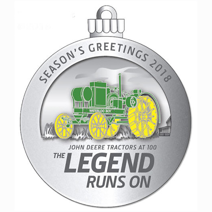 2018 Holiday Ornament | Office | Indoor | For the Home | John Deere ...