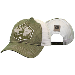 White Deer Patch Cap