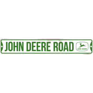 Die Cut Emblem Tin Street Sign
