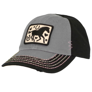 Toddler Do Good Today Horse Silhouette Hat