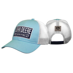 Women's Soft Blue Patch Hat