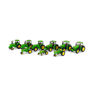 1/64 Decade Tractor 9 Piece Set