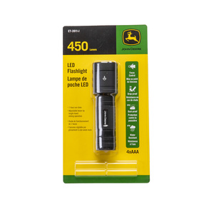 450 Lumens Battery Powered Flashlight