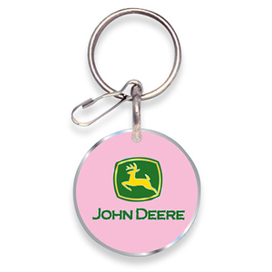 Pink Enamel Key Chain