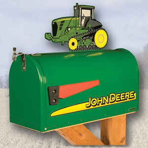9000 series Rural Style Mailbox with Tractor Topper