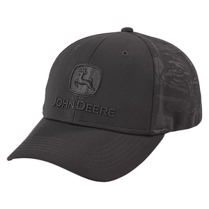 Men's Black Camo Stretch Hat