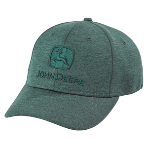 Men's Dark Green Space Dye Stretch Hat