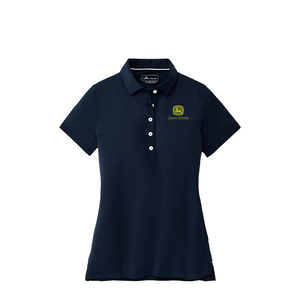Women's Navy Perfect Fit Performance Polo - Medium