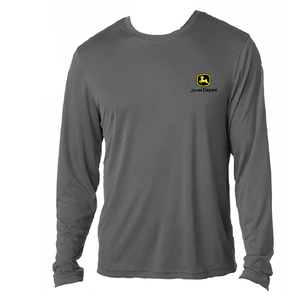 Men's Charcoal Long Sleeved Shirt