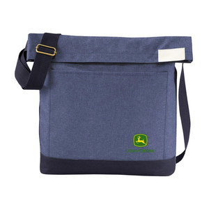 "Chambray Foldover 11"" AG Tote"