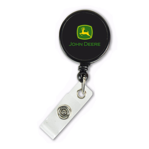 Black Retractable Badge Clip
