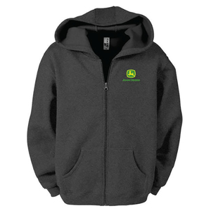 Poly Fleece Full Zip Sweatshirt