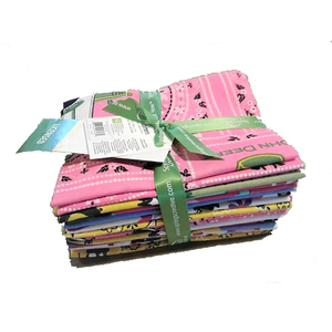 Multi Fat Quarter Bundle of Fabric