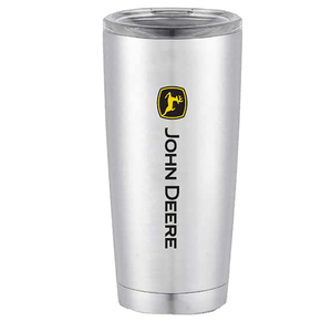 20 oz. Double Wall Tumbler with Black and Yellow Logo