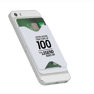 100 Year of the Tractor White Phone Card Holder
