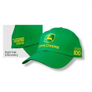 Men's Green 100th Anniversary Cap