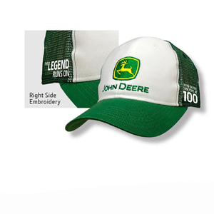 Men's White 100th Anniversary Cap