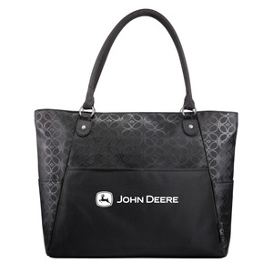 Sophia Black Laptop Tote Bag