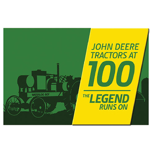 100th Anniversary Green and Yellow Magnet