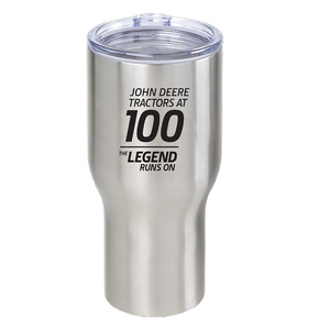 100 Year of the Tractor Stainless Tumbler