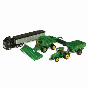 1/64 Scale Harvesting Equipment Toy Set