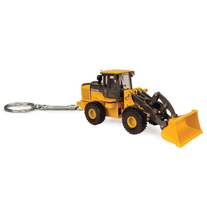 Key Chain Featuring Wheel Loader
