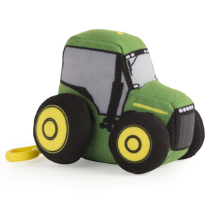 4 Inch Johnny Tractor w/ Clip Plush