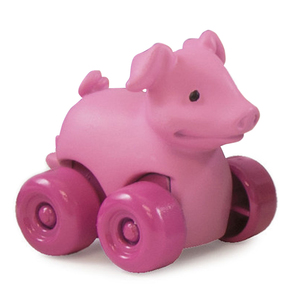 Johnny Tractor Rolling Pig