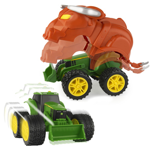 Monster Treads Action Armor Tractor With Bull