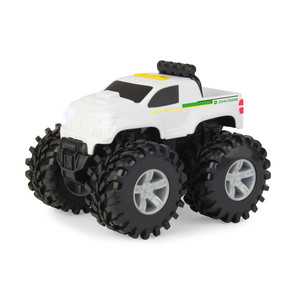 6 In. Monster Treads Lights and Sounds Pick Up Truck