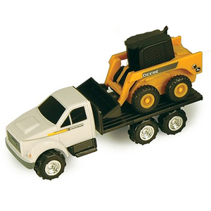 Mini Ag Flatbed Truck with Skidsteer