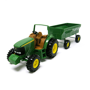 8 Inch Tractor ROPS and Flarebox Wagon
