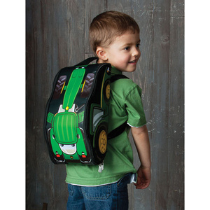 John Deere Take Along Backpack with Tractor