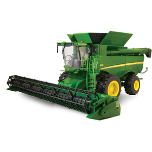 1/16 Big Farm S670 Combine With Grain Head