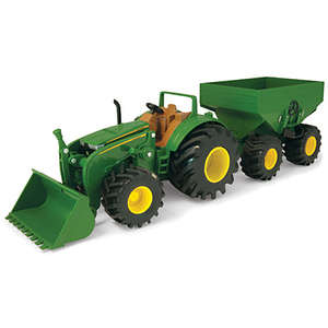 Monster Treads Tractor With Wagon